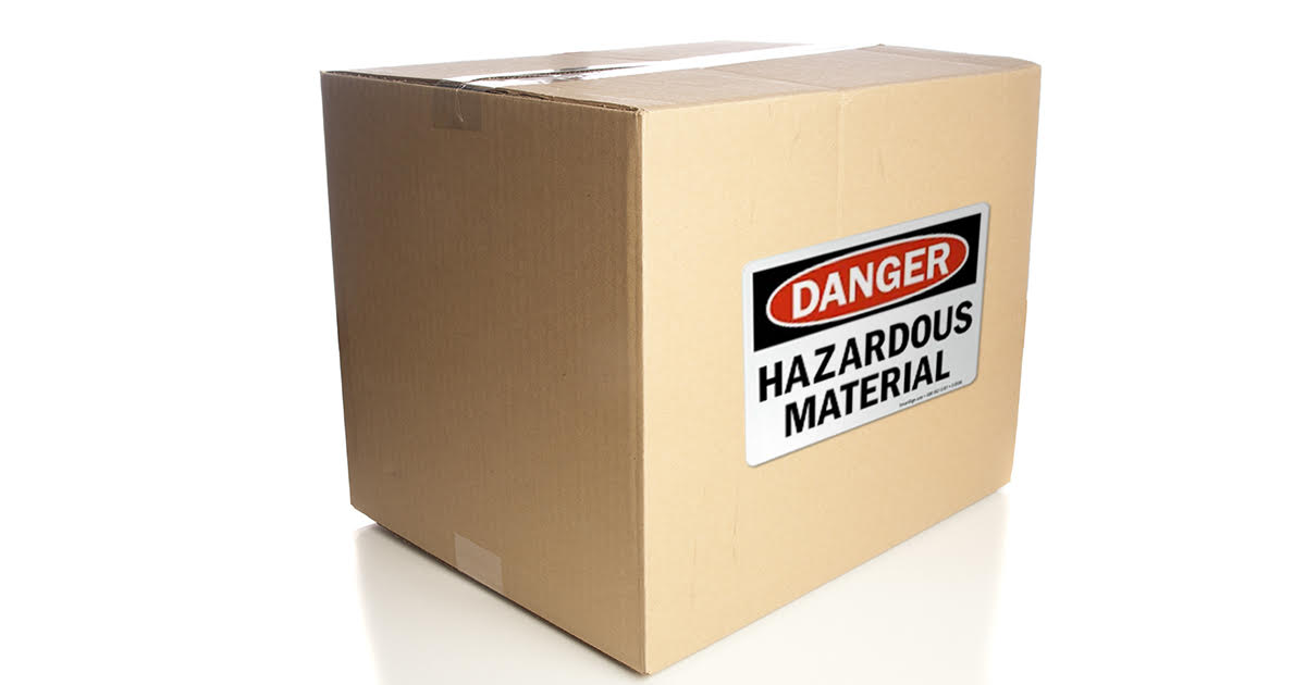 reshipping packaged hazardous materials